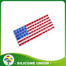 High quality silicone county flag keyboard cover