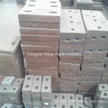High Manganese Liner Plate for Ball Mill