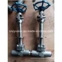 Avc Криогенный запорный клапан Lcb и кованый стальной запорный клапан