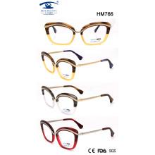 Mejor diseño de gafas de acetato para la venta al por mayor (hm766)