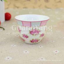 CE EU CIQ EEC FDA LFGB Zertifikate Porzellan Keramik Kaffeetassen ohne Griff aus China Markt