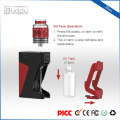 Zbro 1300mAh fácil de recarga de vidro RDA caixa vape kit mod amazon