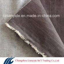 Df69 8.8oz Light Colored Cotton Spandex Slubby Fabric for Women Jeans
