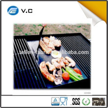 2015 new product Custom size teflon coated fiberglass price BBQ Grill Mat - Set of 3 Heat Mats