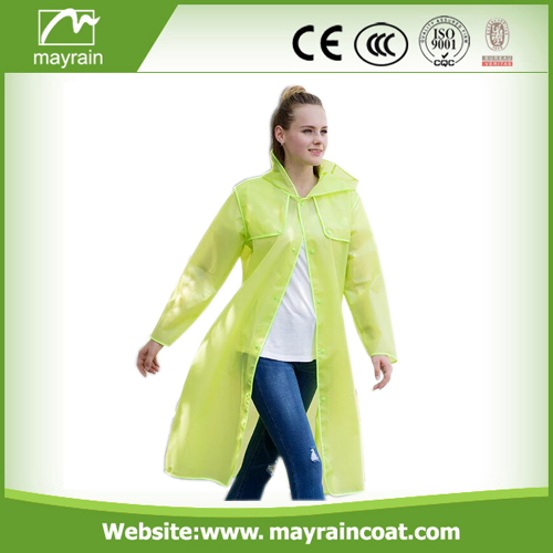 Long PVC Outdoor Jacket