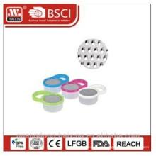 Kunststoff Runde Reibe mit Behälter und Griff