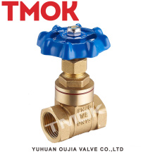 high quality forged brass gate medium pressure flash board full port aluminum handwheel brass gate valve with certificate