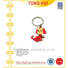 Custom red puppy dog gift key chains w/any different requests