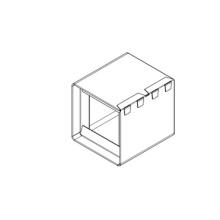 Fire Damper Frame Design intégré Machine de formage de rouleau automatique Arabie Saoudite