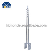 HOT DIPPED GALVANIZED Ground Screw FOR wooden fence