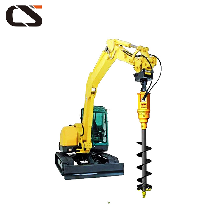 auger drilling machine of hand earth drill