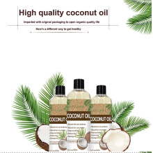 Wholesale Smooth Moisturizing and Repairing Skin Coconut Oil for Skin Care and Hair Care