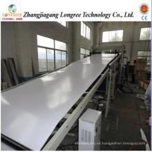Cadena de producción plástica de la hoja del PVC 0.2-2mm