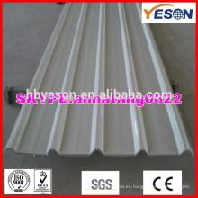 Panel de techo pintado / Teja de techo de acero duro / techo de techo de acero