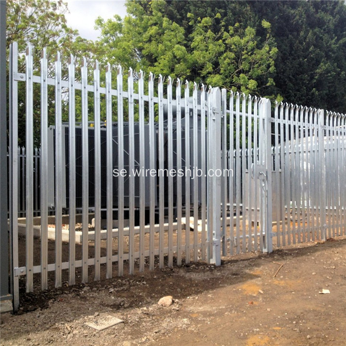 Hot Dipped Galvanized Security Palisade Fence