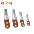 Buraco duplo para cabo bimetálico de friso