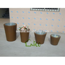 the latest outdoor garden rattan plant vase set