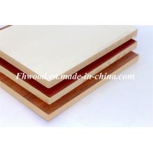 Mélaminés chinois MDF pour meubles et décoration