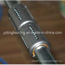Cojinetes lineales de acero de cojinete, cojinete lineal de la marca de fábrica de Japón