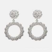 The Manufacturer Is Stocking a New Crop of Fashionable Earrings with Geometric Alloy Lacquered and Plated Earrings