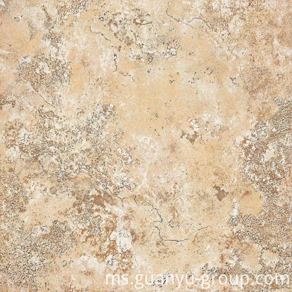 Luxury Beige Metal Look Porcelain Tile