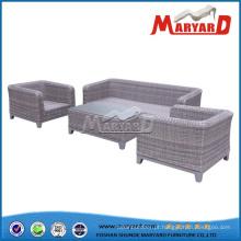 Mobília ao ar livre sofá de vime