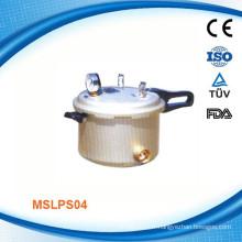 MSLPS04W Nouveau stérilisateur à vapeur à pression portable en aluminium