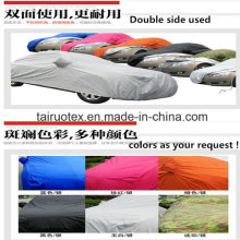 High Waterproof Car Cover of 100% Polyester Printed Fabric
