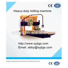 Haute précision cnc China Lathe Mill Drill perçage profond et chariot à vendre