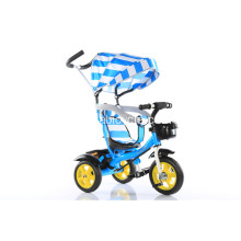 Barn tricycle cykel med push bar