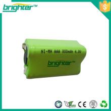 Batterie de jeu à faible coût aaa nimh batterie pack 2.4v