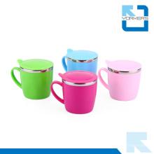 Оптовая Красочные Leak Proof нержавеющей стали Металл пить чашку для детей
