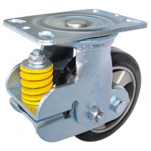 Shock Absorbing Type PU Caster Fixed/Swivel