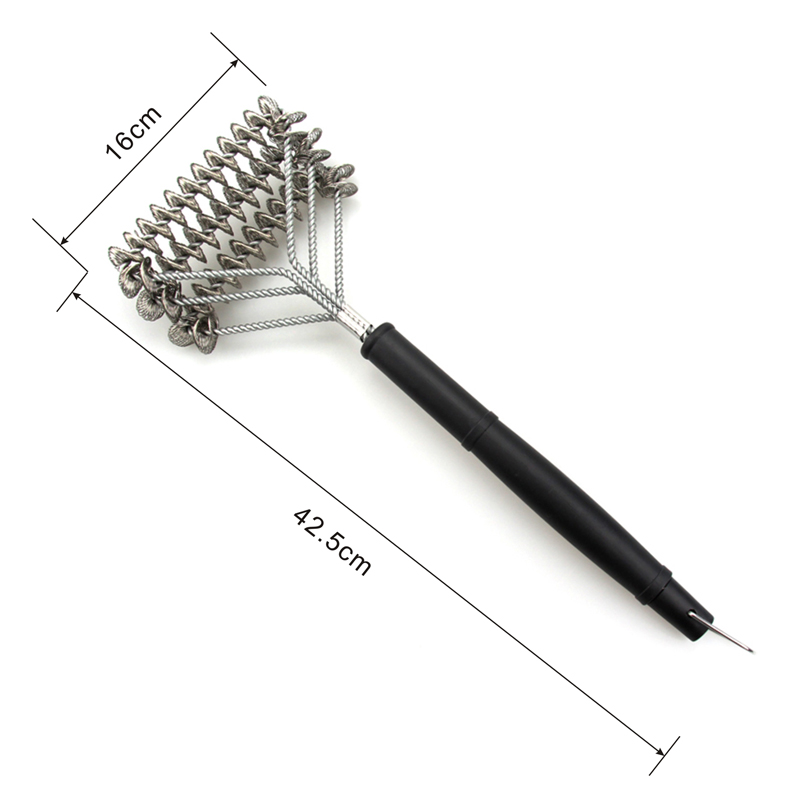 Heavy Duty Plastic Handle Bristle Free Grill Brush