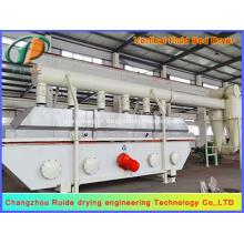 Secador de leito fluidizado vertical para indústria química