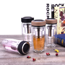 Double Wall Water Bottle with Filter Infuser
