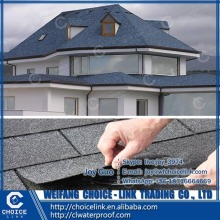 roof material colorful fiberglass reinforced asphalt shingle