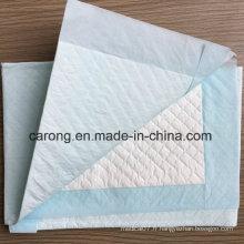 Papier non tissé Produits étanches à l'épreuve des produits médicaux Underpad