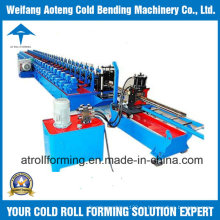 Máquina formadora de rollo de bastidor de almacenamiento
