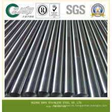 304 Tubo de acero inoxidable sin costuras para la industria del gas