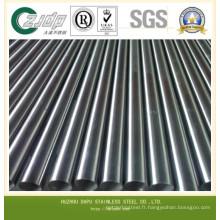 304 tubes sans soudure en acier inoxydable pour industrie du gaz