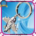 3D Metal Key Chain with Air Plane Shape