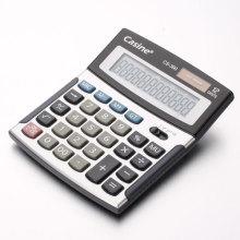 Calculadora plástica preta
