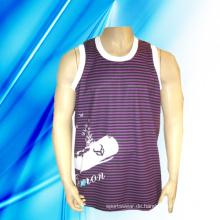 100% Polyester Man's Sleeveless Basketball Jersey