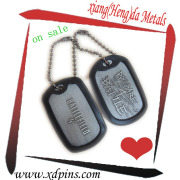 Aluminum Customized Engraved Military Dog Tags