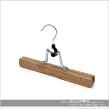 En bois fond Pants Hanger Extension cintre