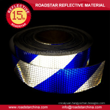 High visibility strip PVC reflective tape for vehicles