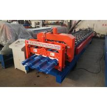 Corrugation Coil Glazed Tile Panel Equipment