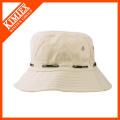 Chapéu branco liso da cubeta do algodão Atacado