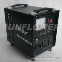 Sistema de energía casero solar 110W